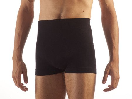 F402 Boxerki BOKSERKI MĘSKIE Man Shape Cotton BLACK M
